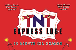 TNT Express Lube Gift Card
